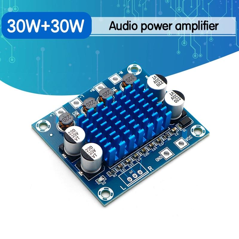 TPA3110 XH-A232 30W+30W 2.0 Channel Digital Stereo Audio Power Amplifier Board DC 8-26V 3A C6-001
