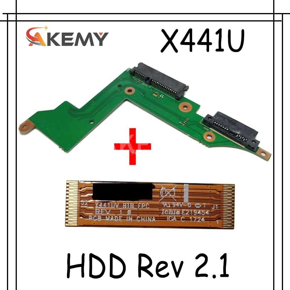 AKmey الأصلي لأسوس X441U X441UV HDD المجلس X441UV_HDD Rev 2.1