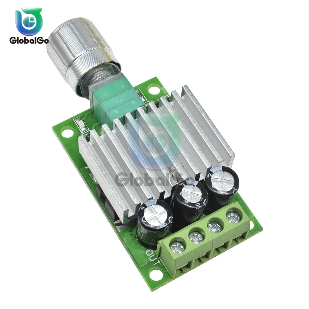 DC 6V 12V 24V 30V 10A DC Motor Speed Controller PWM Controller Switch