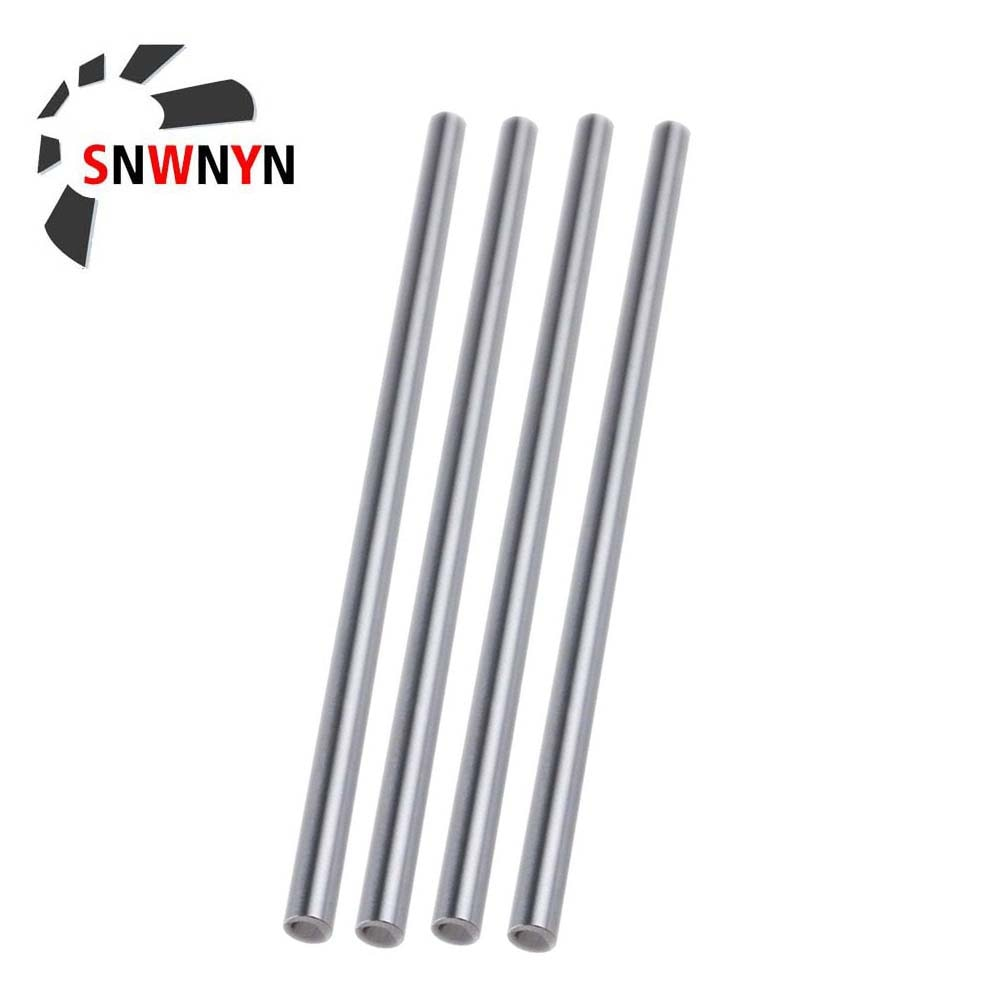 4pcs Linear Optical Axis 6mm 8mm 10mm 12mm 16mm 20mm Linear Shaft 3d Printer 8mm X 400mm Cylinder Liner Rail Axis CNC Parts 1pcs lm6uu lm8uu lm10uu lm12uu lm20uu linear ball bearings 6mm 8mm 10mm 12mm 20mm part bush bushing steel for 3d printers parts