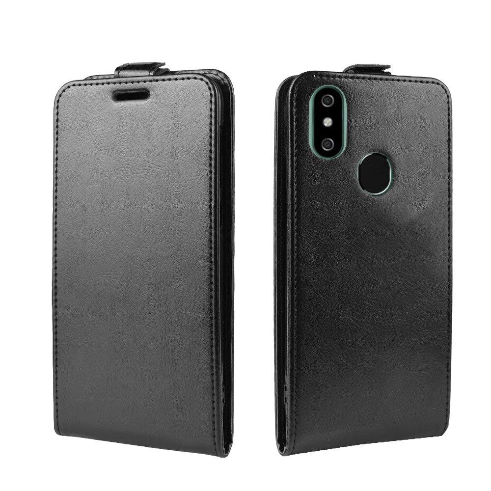 Funda de teléfono para Oukitel C13 C15 Pro Flip PU funda trasera de cuero para C13pro C15pro cartera Smartphone bolsa funda Fundas