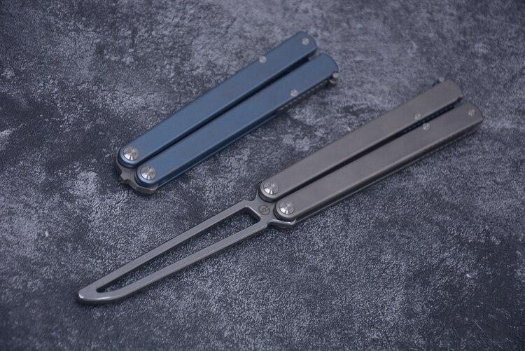 Maxace Practice Knife, Pocket Knife, Field Fruit Knife, Portable Outdoor Training Knife