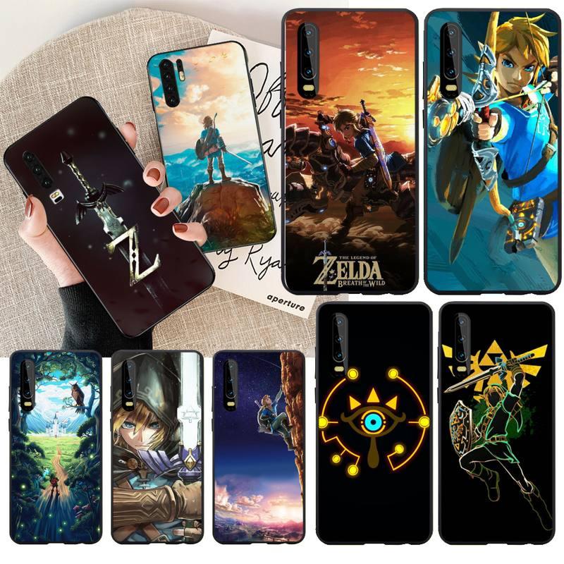 NBDRUICAI la leyenda de Zelda juego DIY pintado Bling funda de teléfono para Huawei Honor 20 10 9 8 8x 8c 9x 7c 7a Lite view pro