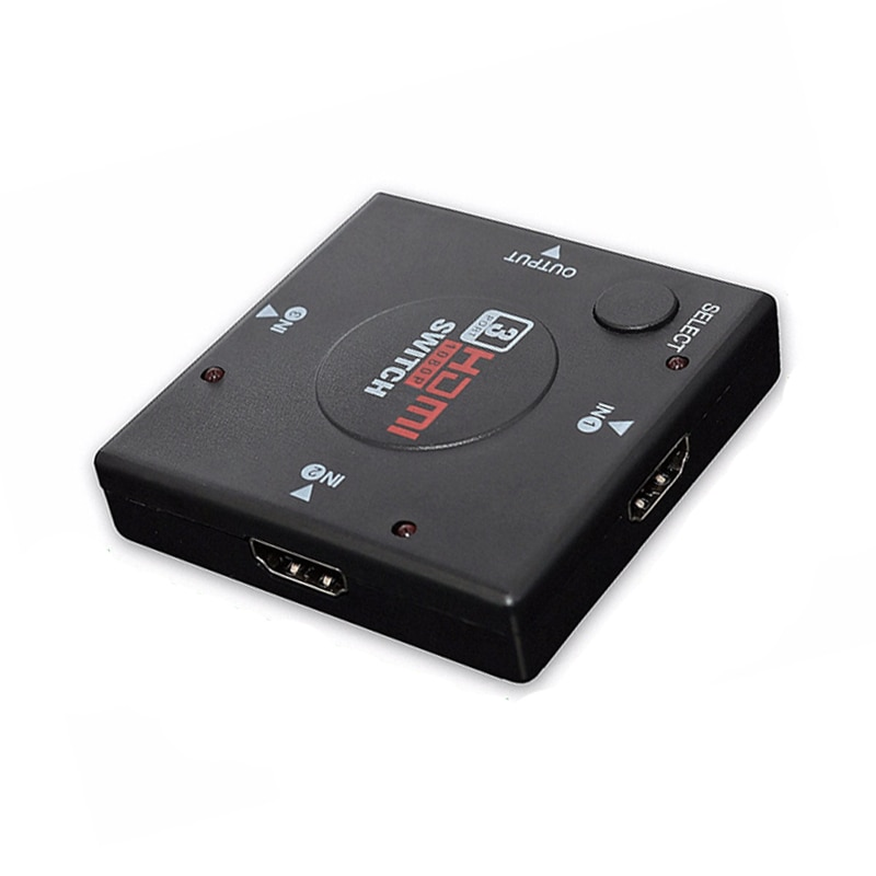 Cable adaptador divisor HDMI 1.4b 1080P conmutador HDMI interruptor 3 en 1 puerto de salida Hub para Xbox PS3 PS4 HDTV