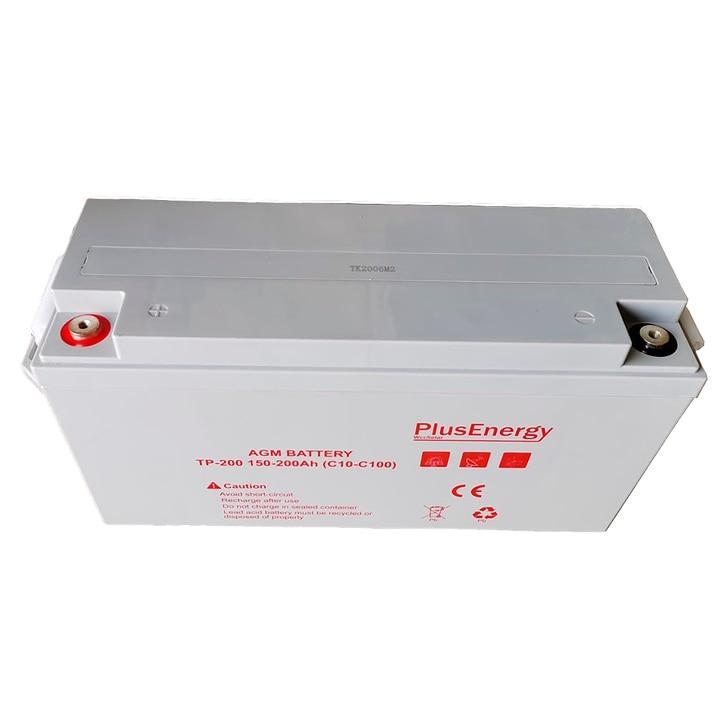 Batería solar AGM para coches y autocaravanas de 150Ah WccSolar