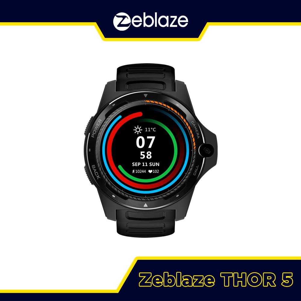 ساعة ذكية Zeblaze THOR 5, ساعة ذكية Zeblaze THOR 5 نظام مزدوج ساعة ذكية 1.39 بوصة AOMLED 454*454p x 2GB + 16GB 8.0MP كاميرا أمامية