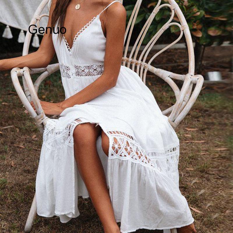 Summer White Beach Dress Cotton Crochet Cove Up Lace Patchwork Bathing Suit Swimwear Cover Sarong Robe Bikini