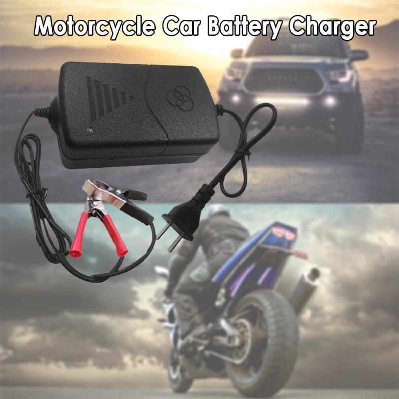 Европейское стандартное зарядное устройство для автомобиля, грузовика, мотоцикла, 12 В, умное Компактное зарядное устройство для батареи, тендер, поддерживающее автомобильные аксессуары TSLM1