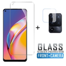 2in1 Protective Glass for Oppo Reno5 Lite Case Camera Lens Protective Film For oppo Reno5 lite reno5