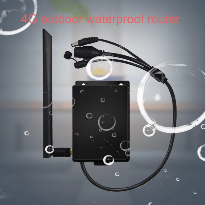 150 Мбит/с CAT4 маршрутизаторы LTE 3G/4G сим-карты Wi-Fi маршрутизатор Водонепроницаемый Открытый 4 г CPE маршрутизатор для IP Камера/снаружи покрытие с...