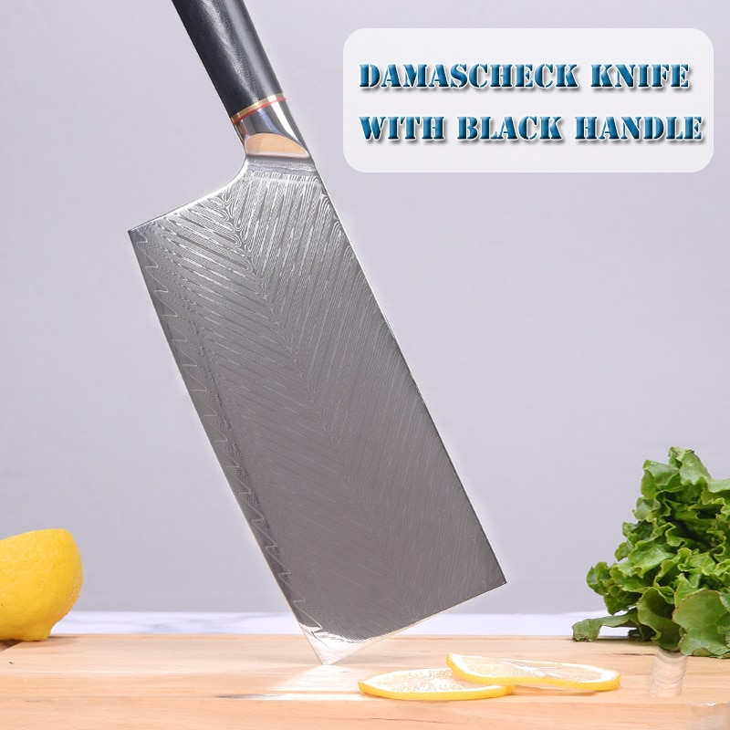 NZV الشيف سكين 67 طبقات اليابانية دمشق الصلب دمشق سكين الطاهي 8 بوصة دمشق سكين المطبخ G10 مقبض كبار هدية صندوق