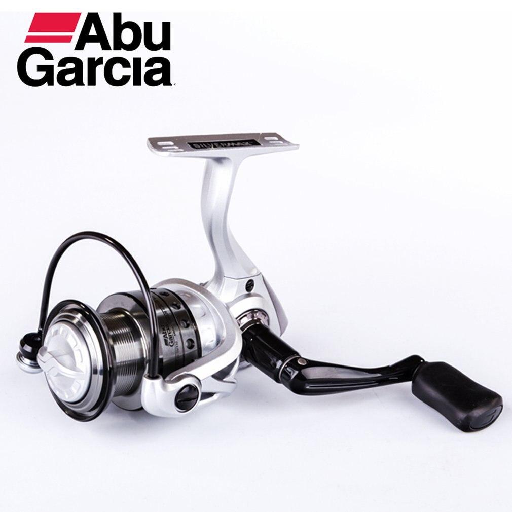 Topo abu garcia prata max smaxsp 500-4000 série 5 + 1bb molinete de pesca carretel de alumínio de água doce carretel carretilhas de pesca