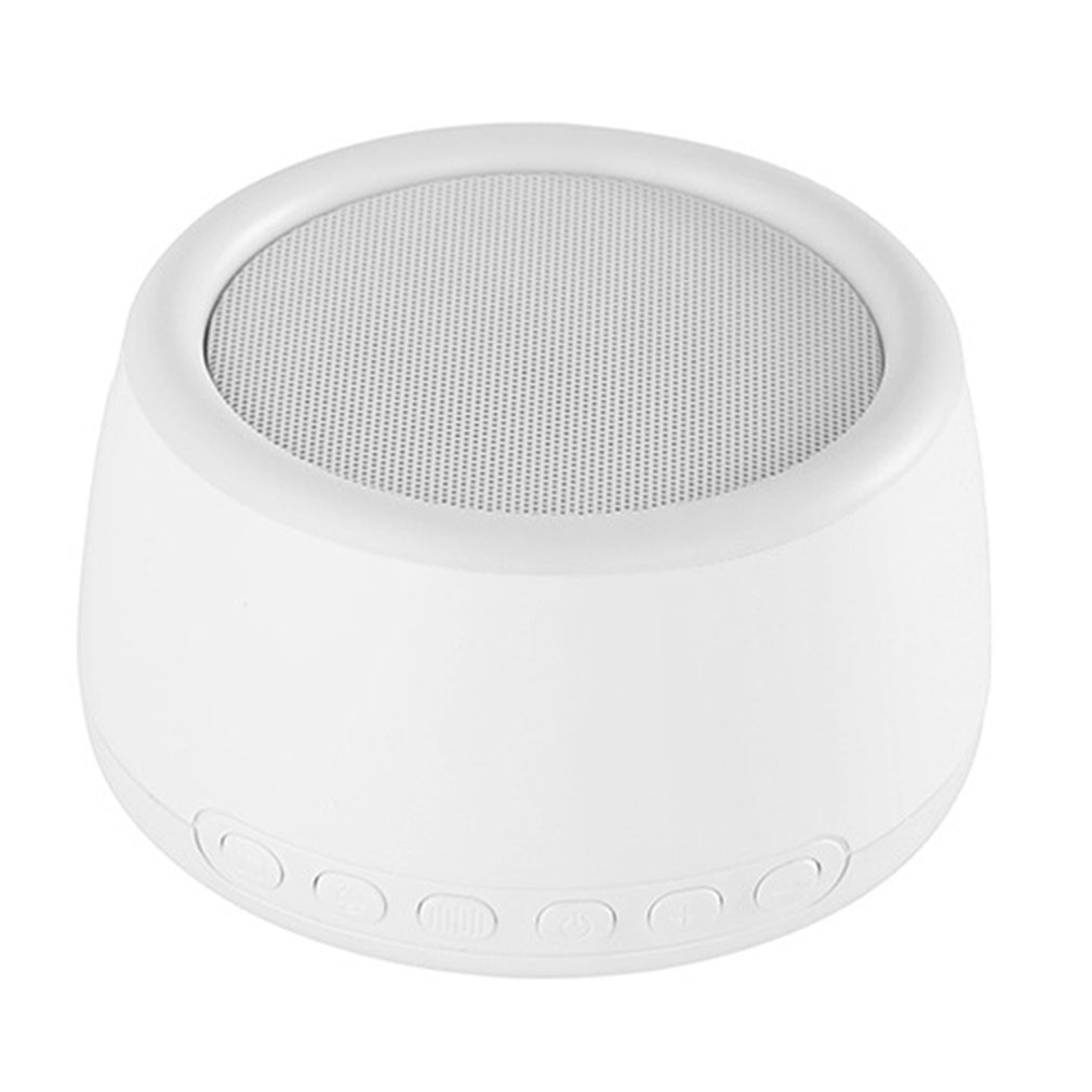 White Noise Machine Timed Shutdown Sleep Sound Machine For Sleeping & Relaxation USB Rechargeable For Baby Adult Office Travel