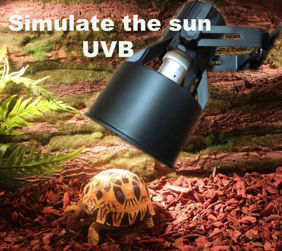 Pet lamp reptile lamp simulates the sun's UVB closest to the sun's irradiation value box type breeding lamp