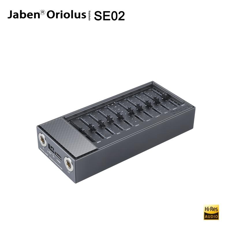 Jaben Oriolus SE02-مشغل موسيقى محمول ، نظام صوت HiFi ، 4.4 مللي متر ، إدخال متوازن ، 5 تردد ، موازن رسومي لـ M6 M11 PRO