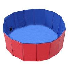 Baignoire pour chien piscine pataugeoire piscine pliable pour chiens moyens et grands