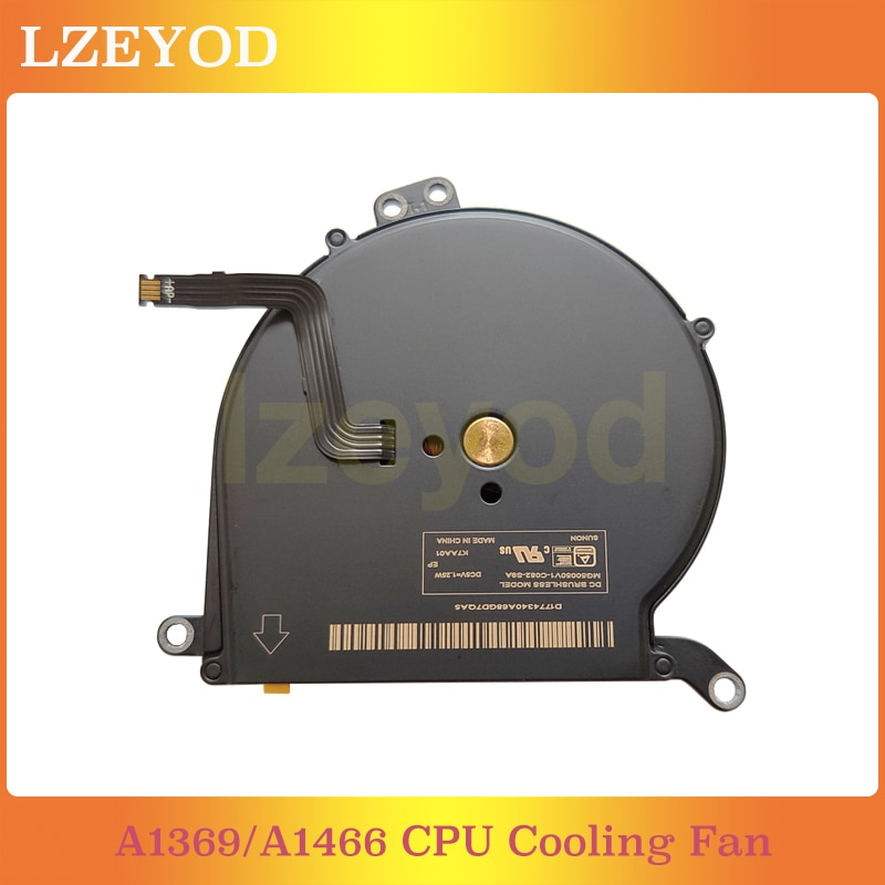 Original Brand New A1466 CPU Cooling Fan fit For MacBook Air 13.3