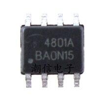 10 pcs/lot AO4801A 4801A 5A 30V SOP-8 100% Original Neuf