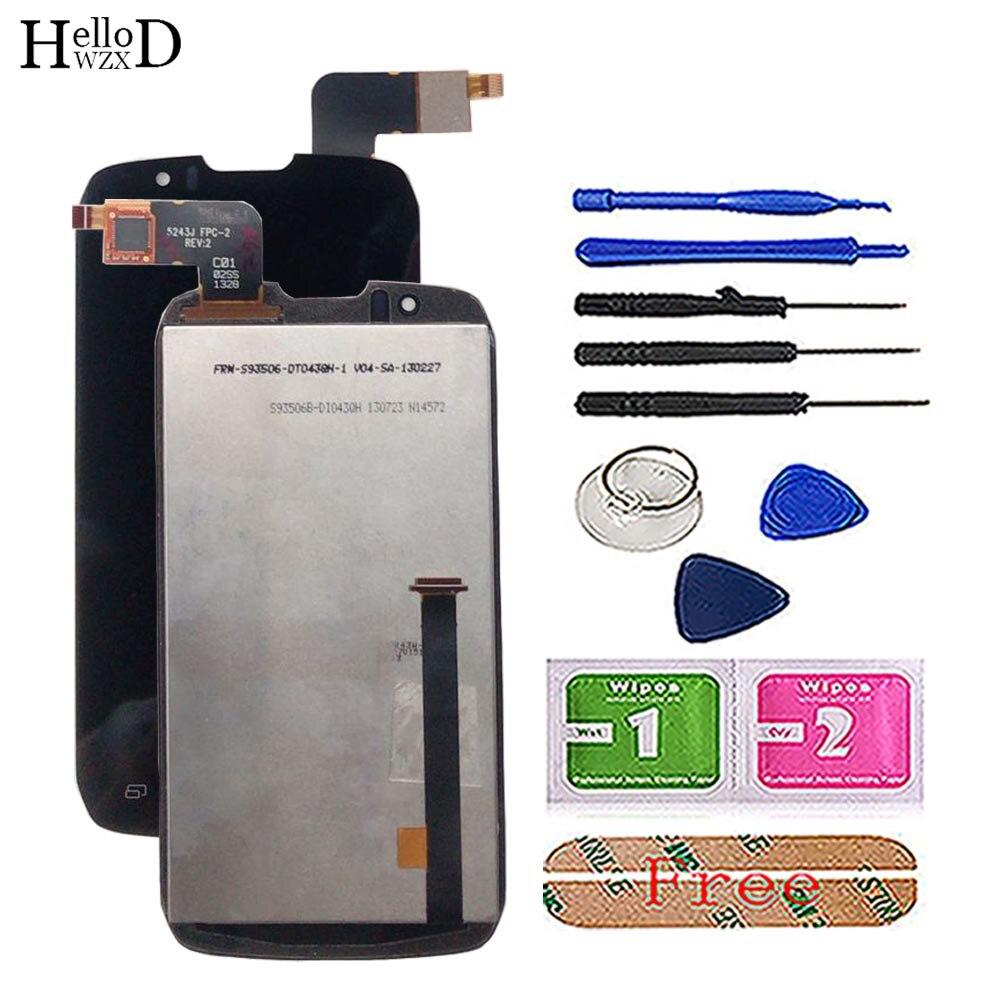 Сенсорный экран, дигитайзер, ЖК-дисплей для DNS S4502 4502 S4502M Boost Cloudfone Thrill430X Innos D9 D9C, ЖК-дисплей