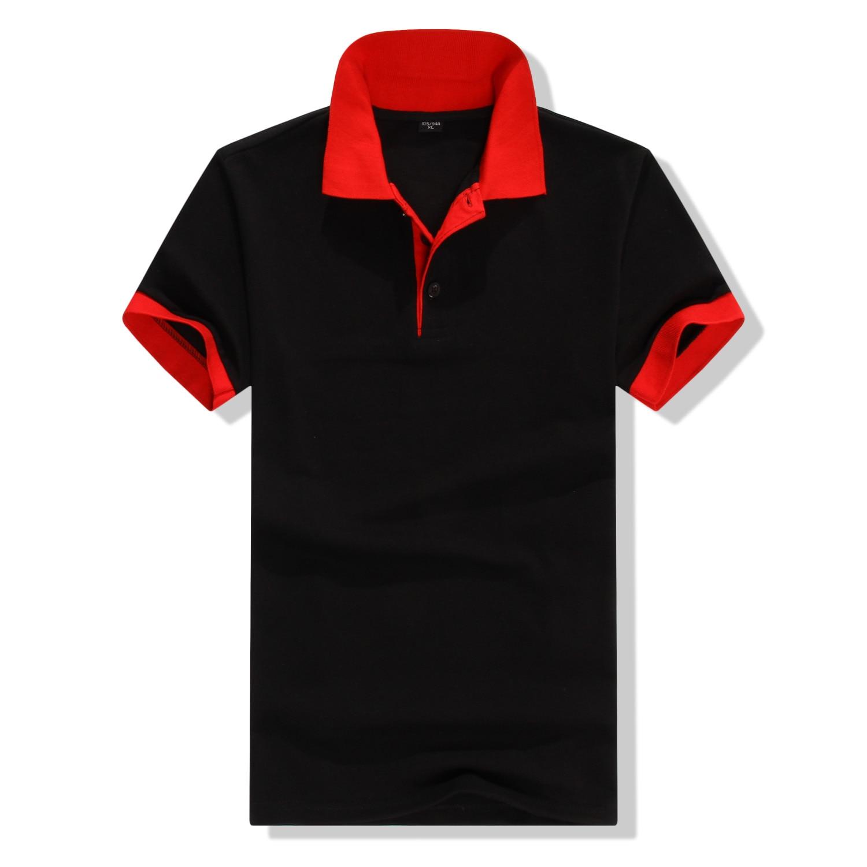 Summer short Sleeve Polo Shirt men fashion polo shirts casual Slim Solid color business men's polo shirts men's clothing