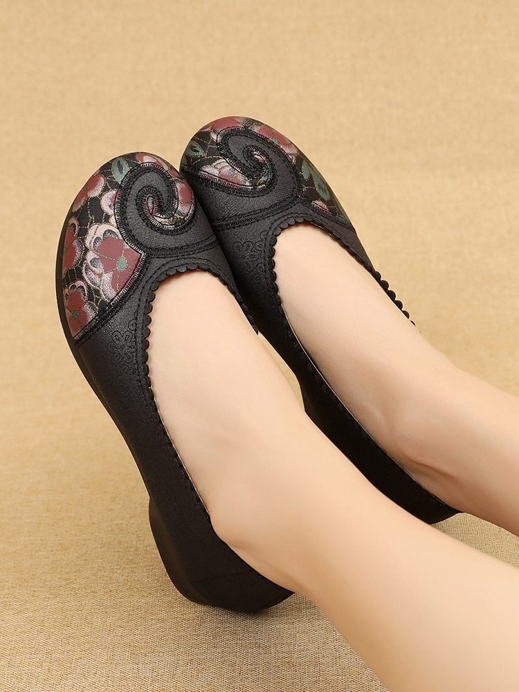 Women's Pregnant Flat Shoes Women Shoes Women Ballet Flats for Work Women Ballet Flats shoes Cloth Flats Sweet Loafers Slip On