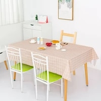 table linen waterproof scald proof oil proof and no wash plastic tablecloth plaid tablecloth tea table cloth pvc table mat