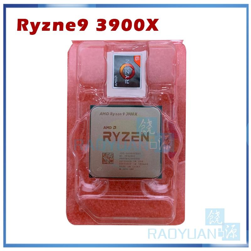 Novo amd ryzen 9 3900x r9 3900x 3.8 ghz doze-núcleo 24-thread processador cpu 7nm l3 = 64 m 100-000000023 soquete am4