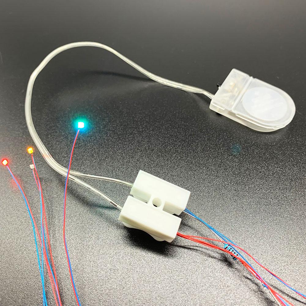 Кнопочный держатель для батарей CR2032, чехол с переключателем ВКЛ./ВЫКЛ., контейнер для хранения батарей 3 в, внешний вид инструментов