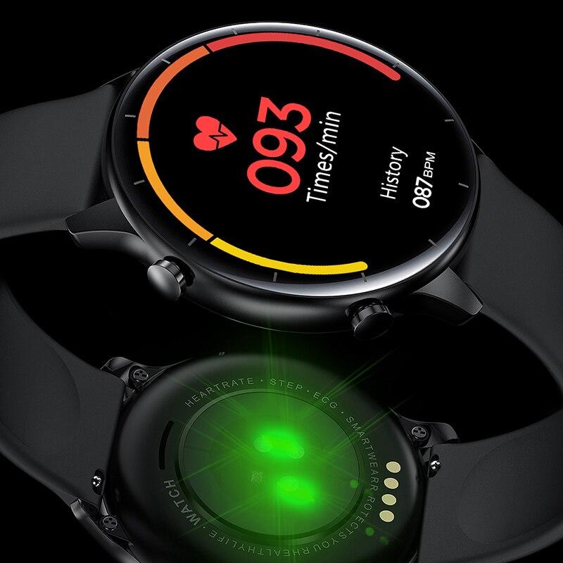 IPBZHE Smart Uhr Männer Android Bluetooth Anruf EKG Reloj Inteligente SmartWatch Frauen Sport Musik Smart Uhr Für Iphone Huawei