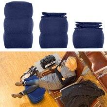 Дорожная надувная подушка для ног, регулируемая детская подушка для сна на самолете, автомобиль, автобус, подножки для детей
