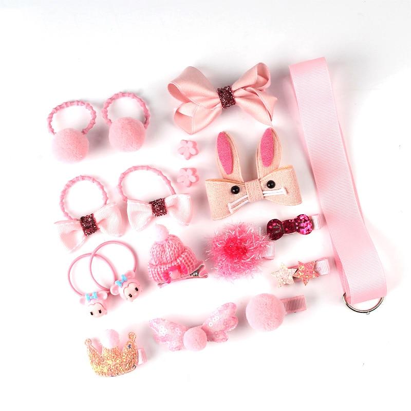 18 buc set de agrafe pentru păr, accesorii drăguțe pentru păr, - Accesorii pentru haine - Fotografie 3