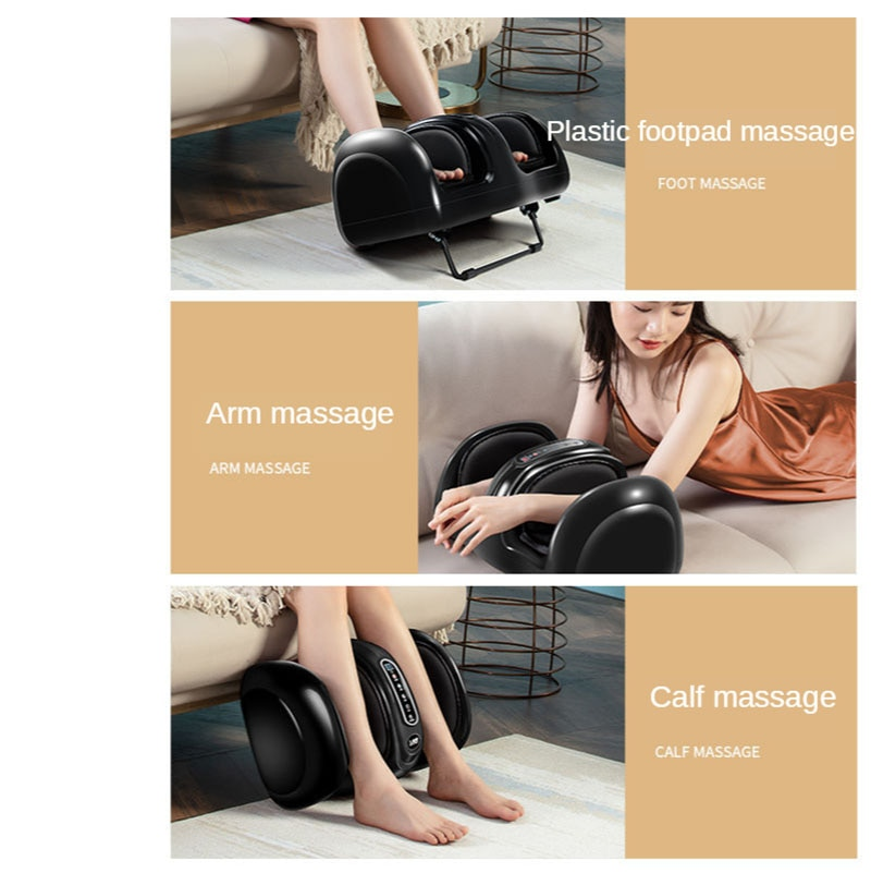 Full Automatic Hand, Leg, Soles, Whole Body Massager. Home Electric Acupuncture Point Heating, Relaxing, Soothing Massage Press enlarge