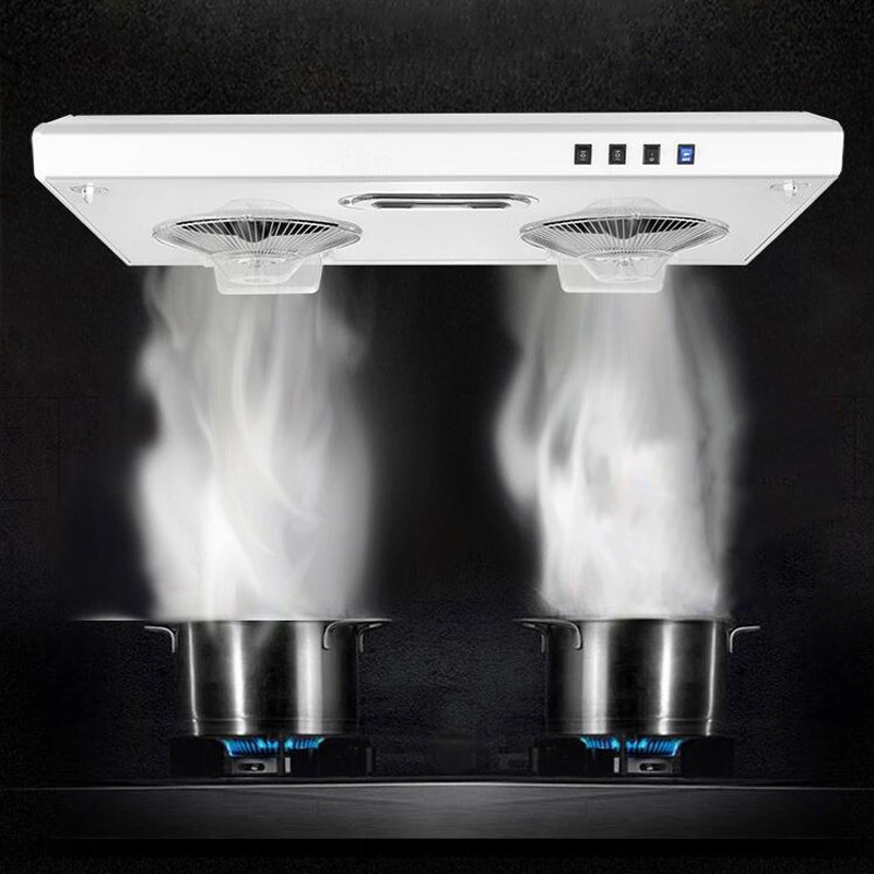 Top Suction Range Hood Grease Pump High Suction Dual Motors Home Ultra Thin Stainless Steel Small Chinese Style Kitchen