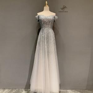 Стразы 2020, вечерние платья с высоким воротом, платье с юбкой-годе Дубая для женщин, платье для вечеринки, роскошное платье delia