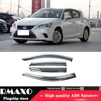 For Lexus CT200 2011-2016 Plastic Window Visor Vent Shades Sun Rain Deflector Guard 4PCS/SET