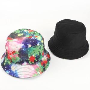2021 four seasons starry sky print cotton Bucket Hat Fisherman Hat outdoor travel Cap for Men and Women 262