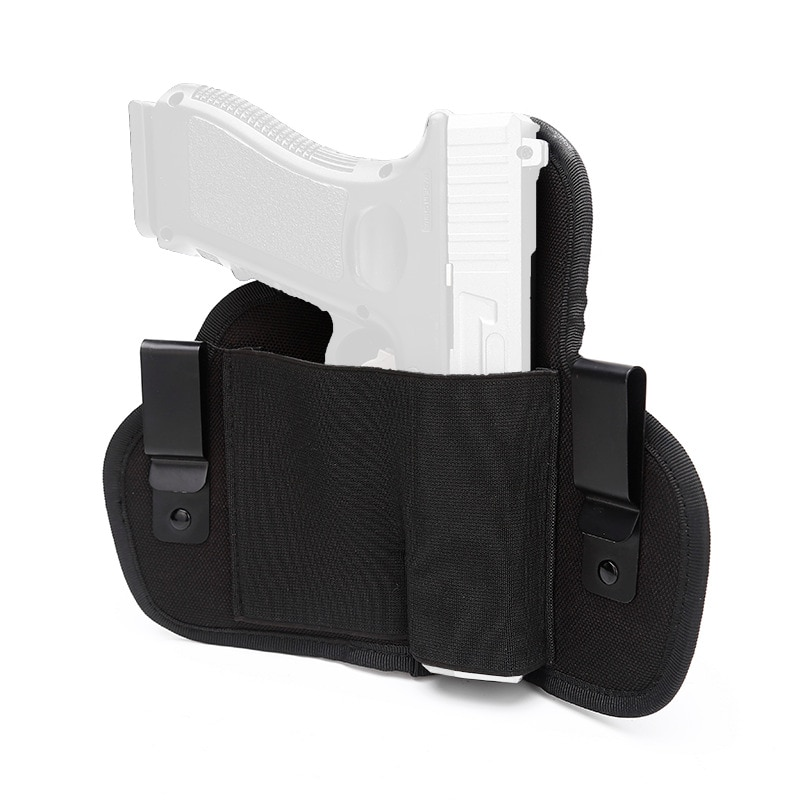 Universal Military Tactical Gun Holster Concealed Carrry Left Right IWB Waist Bag Hunting Airsoft Glock Handgun Pistol Holsters