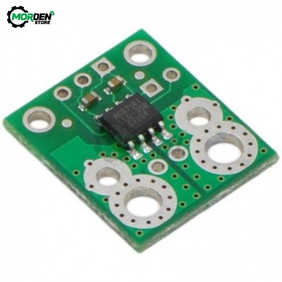 ACS714 5A 20A 30A 5V aísla lineal Sensor de corriente placa de filtro condensador de resistencia de efecto Hall para reemplazar ACS712