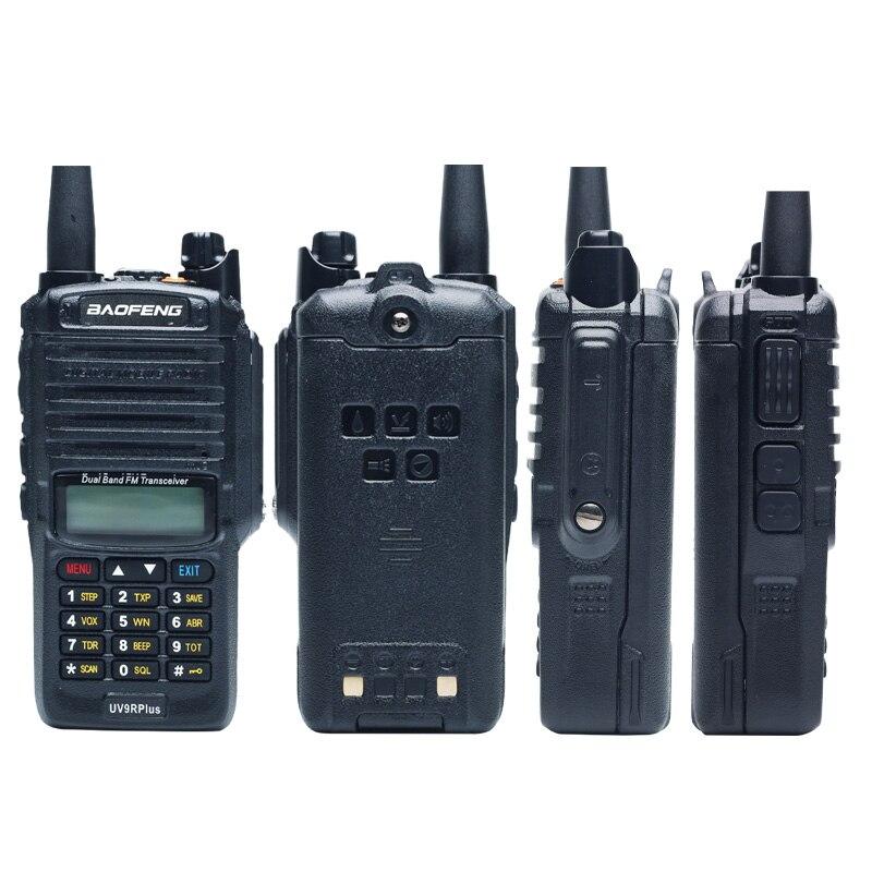 2021Nieuwe Baofeng UV-9RPlus 10W IP68 Walkie Talkie Waterdichte Dual Band Portable Cb Jacht Ham Radio UV9RPlus U/VHF Transceiver enlarge