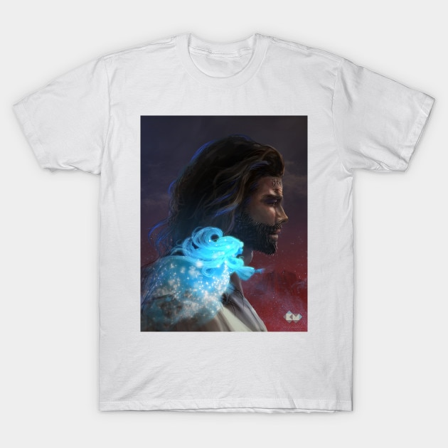 Hombres camiseta Kal y Syl camiseta mujer camiseta