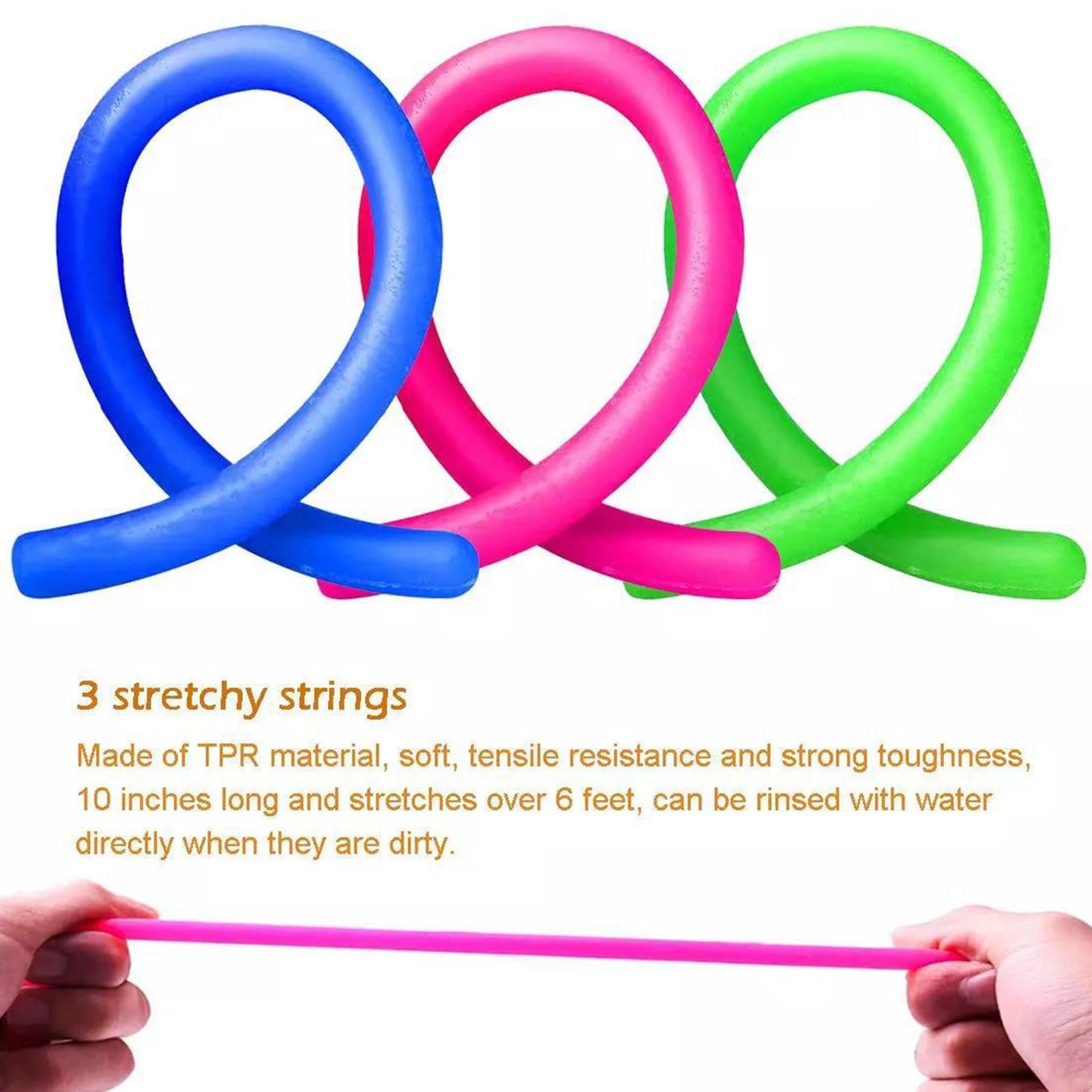28 Pcs Sensory Fidget Toys Set Bright Colors Stress Anxiety Relief Sensory Toys For Children enlarge