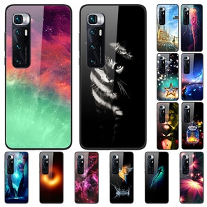 Glass Case For Xiaomi 10 Ultra Tempered Glass Phone Case Phone Cover Phone Shell Series 1