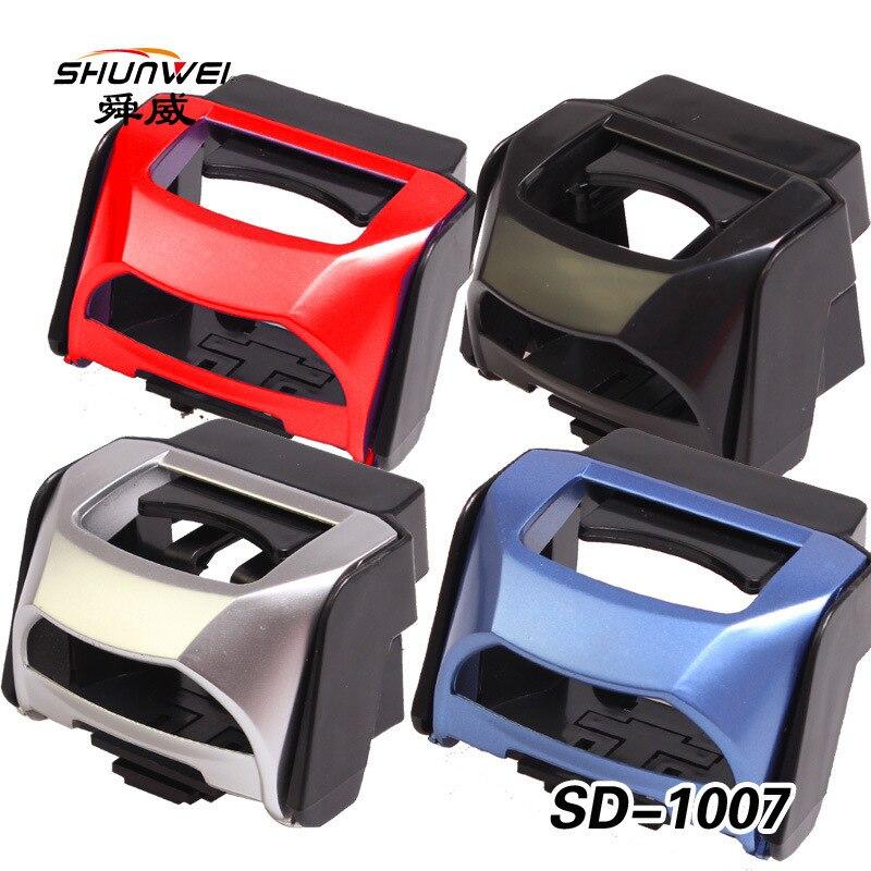 Voiture multifonctionnelle de support de boisson de véhicule de Shun Wei avec la SD-1007 de couleur de la boisson 4 de sortie de téléphone portable