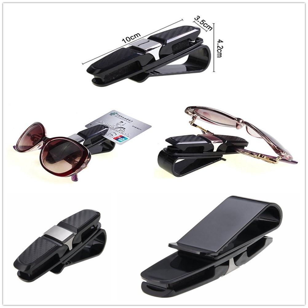 ABS coche gafas de sol titular de la tarjeta de entradas de montaje para Honda City OSM FC pequeño PUYO elemento paso REMIX CRV