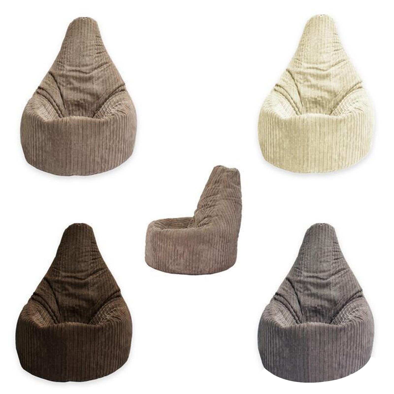 Funda de silla y sofá sin relleno, cómoda PUF, Cama futón, otomana,...