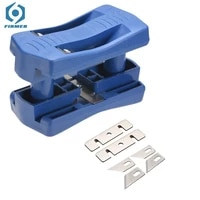 pvc binding strip double edge trimmer banding machine set wood head and tail trimming carpenter hardware