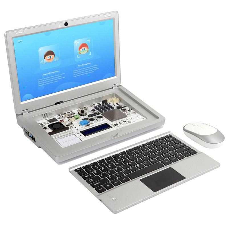 Elecrow CrowPi2 Basic Kit 11.6 Inch 1920*1080 IPS Screen Raspberry Pi LCD Display DIY Programming Learning Platform Laptop