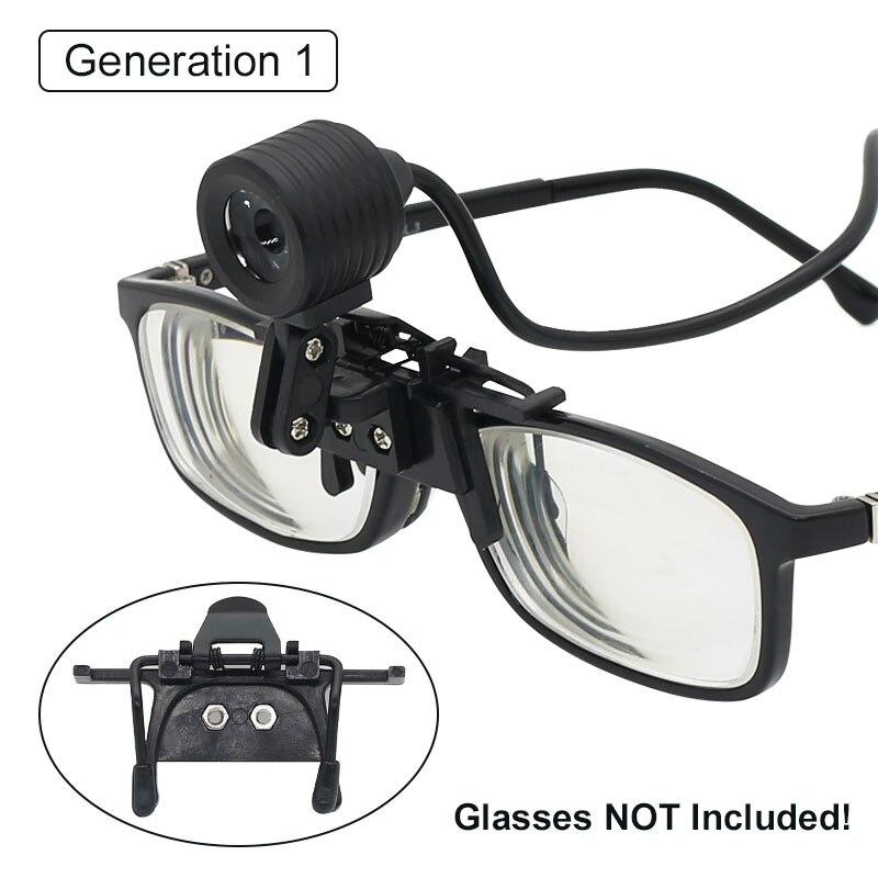 Купить с кэшбэком Headlight for Dental Loupe Binocular Surgical Magnifier Dentist Magnifying Glass LED Head Lamp Light 3W/5W Headlamp Lighting