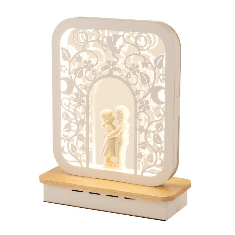 Lámpara de escritorio nórdica, lámpara de armario de dormitorio, lámpara de mesa moderna y romántica, lámpara de estudio sencilla, Bureaulamp Abajur