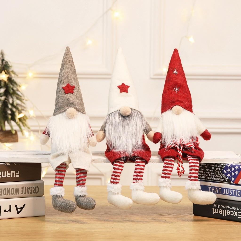 Christmas Decorations Santa Claus Faceless Doll Boy Holiday Home Decoration Decoration Doll
